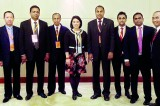 Sri Lankan delegation at top Chinese fair
