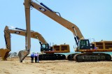 Massive Cat excavators in Sri Lanka to accelerate port projects