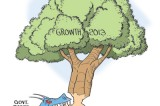 Economic growth amidst serious apprehensions