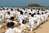 Karate training session by International  Instructors at Matara