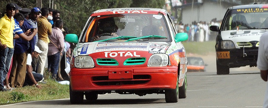 Father and son dazzle at N'Eliya Road Races