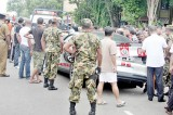 Mystery clouds accident of luxury car sans number plates