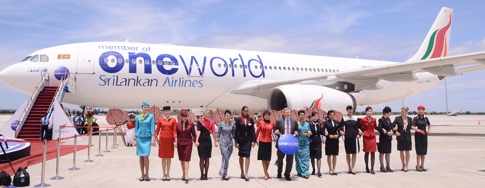 SriLankan Airlines joins 'oneworld' alliance in mega launch at ...