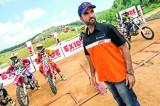 Highflying Balooshi helps  lift Lankan motocross