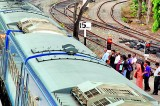 Engine drivers'  go-slow signals frustration for rail commuters