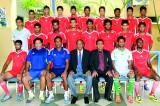 Sujan Perera leads Sri Lanka under 23 football team to Palestine