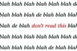Who, What, Why: When did we start saying 'blah, blah, blah'?