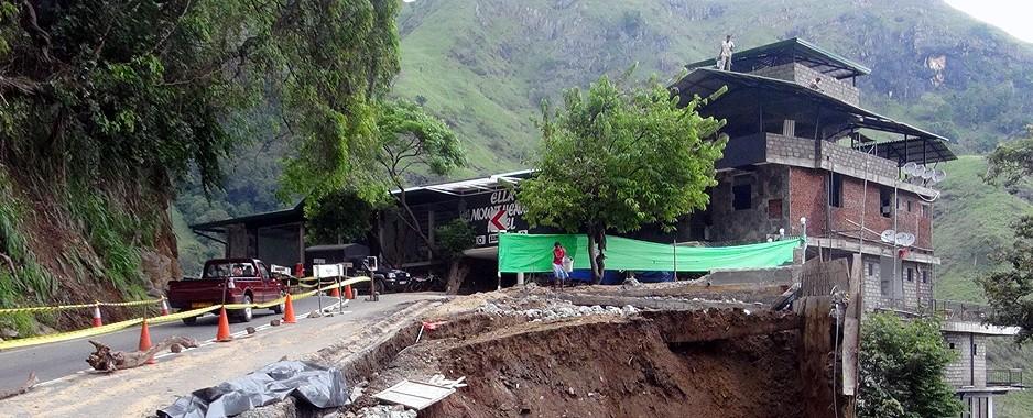Officials helpless as landslide danger grows