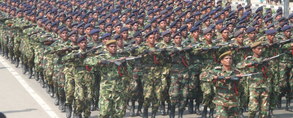 Military parade in Matara to mark victory over terrorism