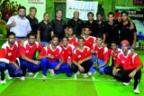 Pan Asia Bank beats HNB at the Mercantile  Indoor Cricket Finals