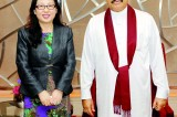 Mahinda holds discussions with Huawei Chairwoman