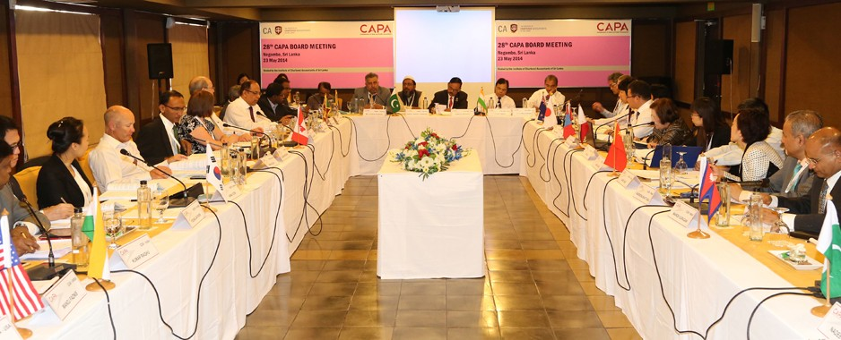 CA Sri Lanka hosts Asia and Pacific Accountants Board Meeting