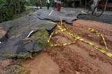Floods expose shoddy carpeting of roads