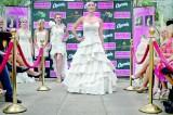 Winner crowned toilet paper wedding dress contest