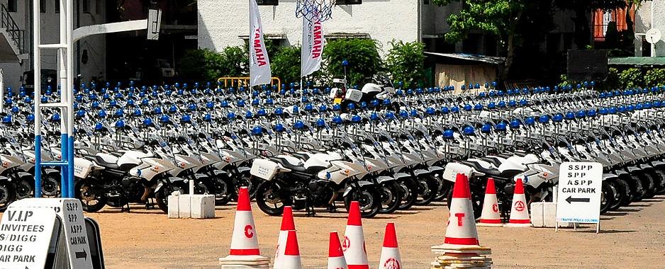 Traffic cops get hi-tech bikes