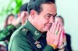 Thai coup leader denies conspiracy with protesters