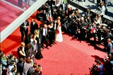Zooming into the other side of the red carpet at Cannes