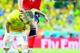 Brazil's Neymar blues