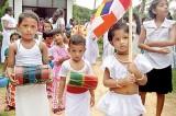 Poson Perahera by kids