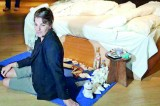 Artist Tracey Emin whoops as her 'My Bed' fetches over $4 million