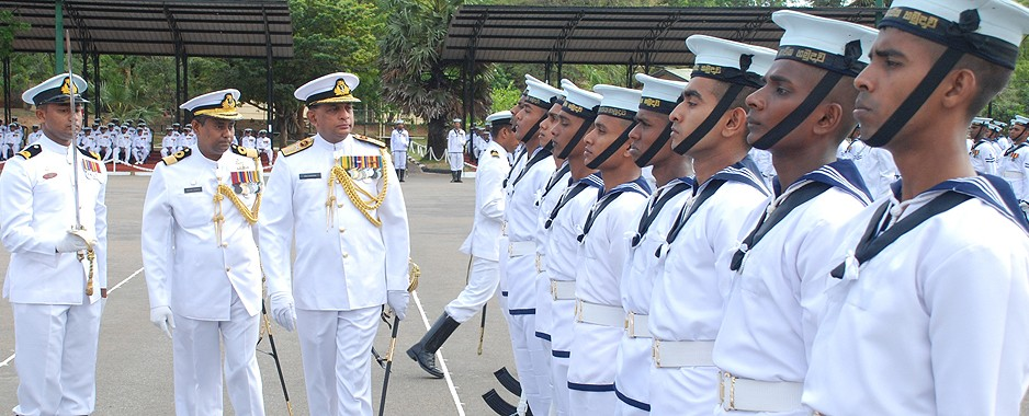 Naval officers commissioned at Naval & Maritime Academy in Trinco