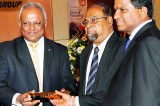 Lankan industrialist  honoured for  contribution to country's  Polymer industry