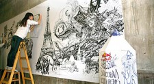 Doodle art opening up a space for creativity