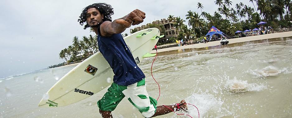Ride my wave at Arugam Bay