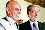 Afghan poll rivals sign deal on unity government