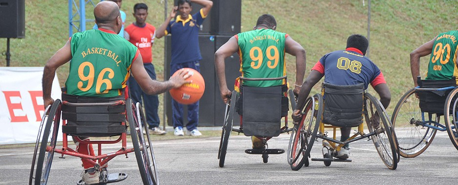 Army Inter Regimental Para-Games in action from August 20 to 22