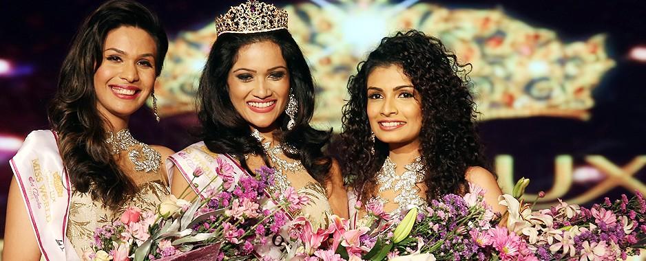 Glittering finale for Miss World Sri Lanka