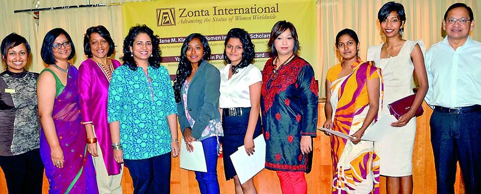Five Sri Lankan women awarded prestigious schols