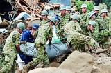 Japan landslide death toll rises to 46