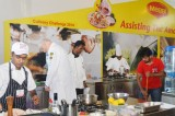 Unusual Maldives culinary competition: Soups and cakes brought in boats