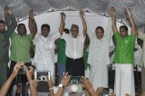Ranil, Sajith make peace but political war in Uva
