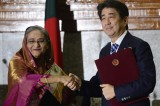 Japan PM travels to South Asia to offset China's influence
