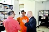 Iraq Ambassador meets guests at exhibition