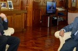 Union Bank investor meets CB Governor