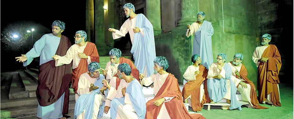 Bringing a Greek tragedy to life