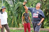Rajiva Wijetunga, best over-55 athlete