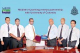 University of Colombo renews  Mobitel 'mLearning', the cutting-edge distance learning initiative