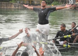 Thomians 'A' fours pip Royal to take the dip in the lake