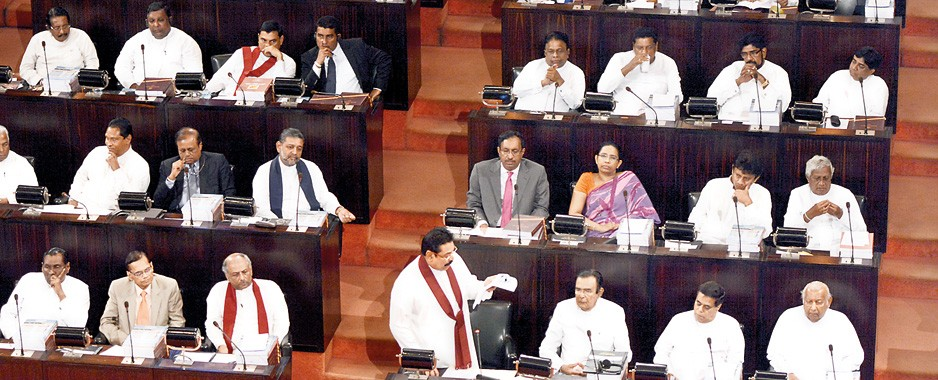 Opposition wrong footed as President Rajapaksa pre-empts Santa