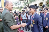 Army Para-Athletic  Medallists felicitated