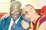 Dalai Lama visits US church at centre of civil rights movement