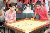 Roshita and Lakmali are women's carrom champs