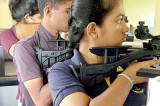 Nalanda, Devi Balika dominate  Air Rifle, Pistol Shooting c'ships