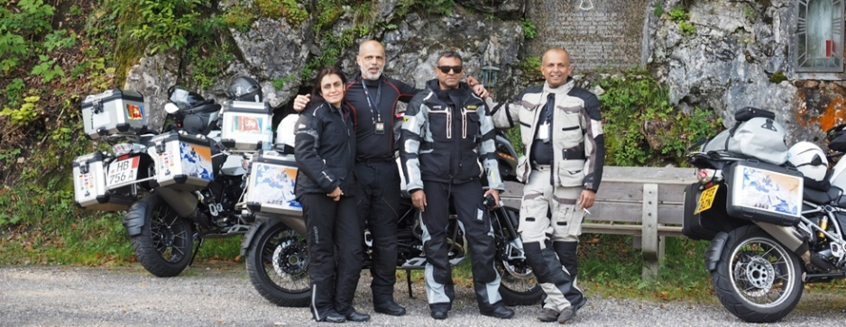 Berlin to Battaramulla: A dream  ride on two wheels and four