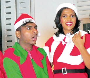 Jith brings Christmas in Tinseltown, Texas to Colombo