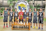 AIS excel in Basketball  in 2014